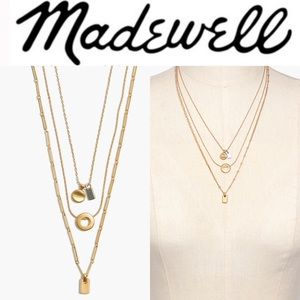 Madewell Mini Charms Necklace Set